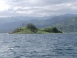 Isalnd in Lake Arenal