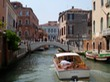 Water taxis arriving in Venice