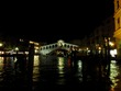 Rialto Bridge the first evening
