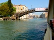 View under Accademia bridge