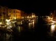 Grand Canal from Rialto at night