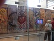 Portion of the Berlin Wall inside the Newseum