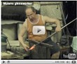 Murano glassworker (video)