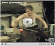 Ariana glassworking (video)